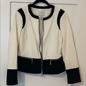 Stunning off white and black jacket